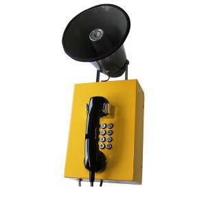 Loudspeaker Waterproof Telephone for RTG type port cranes