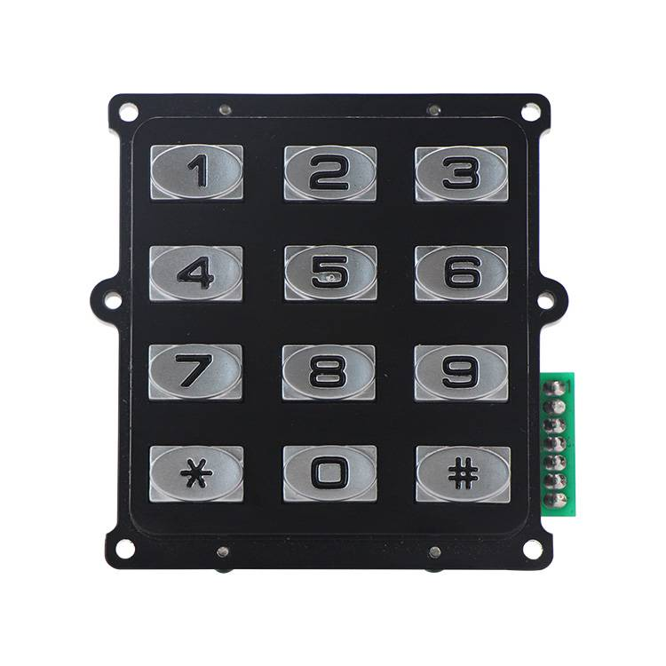 Special Design for Weatherproof Keypad -
