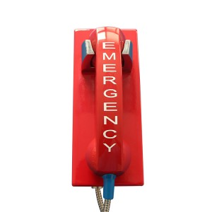 Weather-resistant Telephone Wall mounted Emergency Telephone for Airport JWAT205