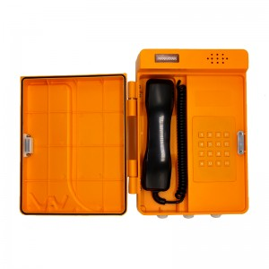 Industrial telephone Waterproof plastic keypad telephone-JWAT304