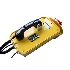 Beacon Light Waterproof Telephone LCD Display Phone JWAT921