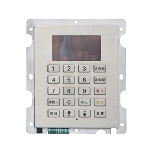 customized stainless steel roj dispenser FPC keypad-B701