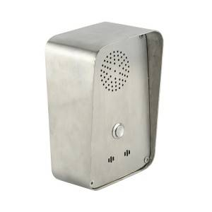 IP54 Stainless Steel One button emergency telephone for intecom system
