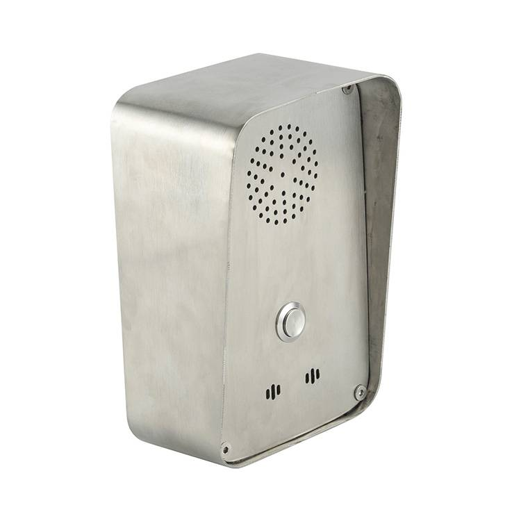 IP54 Stainless Steel One button emergency telephone for intecom system Featured Image