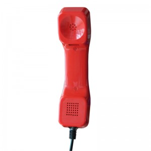 K Style Red Color Vandal-proof  Industrial Telephone Handset-A05