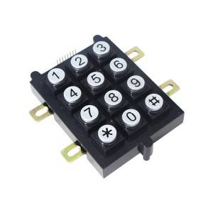 Fire-resistant plastic keypad, weatherproof keypad for hazardous area B102