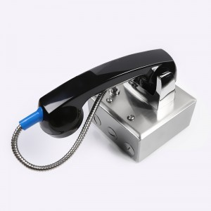 Joiwo jail phone stainless steel visitation phone china security telephone JWAT123