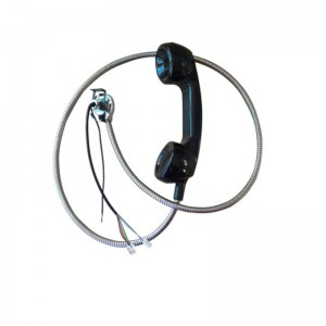 Factory Price For Explosionproof Payphone Handset/ Retro Telephone Set Wall Phone Handset/kiosk Handset