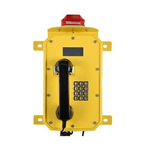 Industrial Wall mounted telephone IP66 waterproof phone