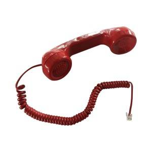 fire fighter's handset, emergency phone handset-A01