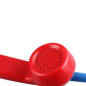 IP65 waterproof rugged industrial telephone plastic handset for harsh condition A03