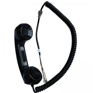 Vandal Resistant Outdoor and Indoor Push-to-talk handset A15
