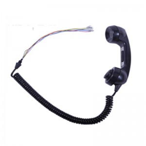G style industrial noise cancelling phone handset with PTT for industrial area-A15