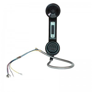 Waterproof industrial rugged IP 65 G-style kiosk Telephone Handset A15