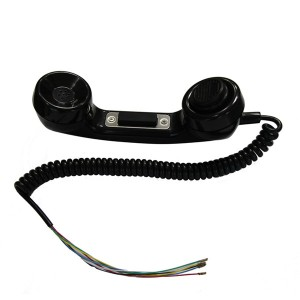 Emergency switch push button lockout ptt function retro mobile phone handset- A15