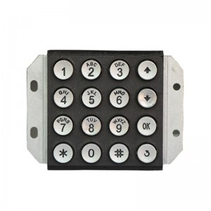 4×4 RS485 keypad USB numeric Keypad for cnc machine -B502