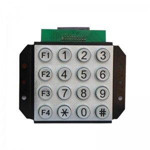 4×4 numeric keypad CNC machine 16keys keypad for production -B502