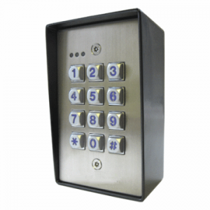 Weatherproof and Vandal Resistant Access Control Keypad B518