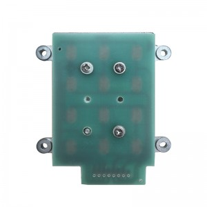 metal functional keypad with high temperature PC keypad B509