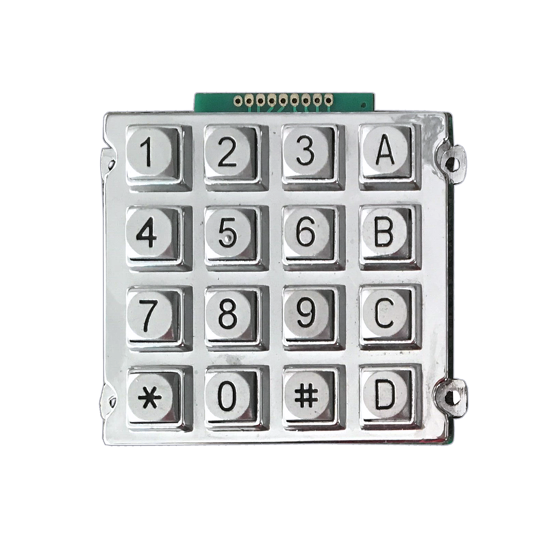 Zinc alloy 4*4 numeric keypad with USB for outdoor application-B512 Featured Image