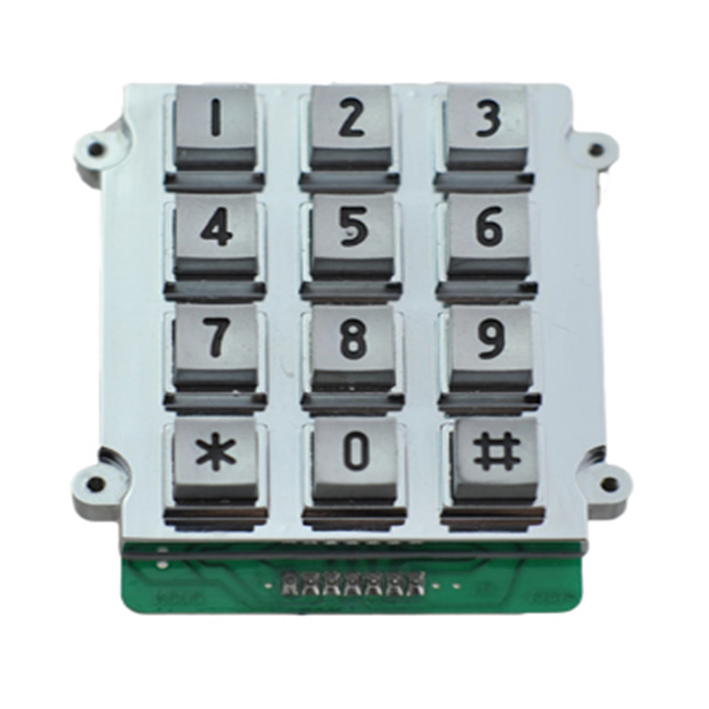 Industrial metal keypad for outdoor-B518 Featured Image