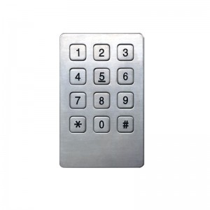 USB metal rs232 numeric access control keypad-B721