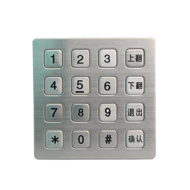 Vandal Resistant Outdoor and Indoor Access Control Keypad  B723 Featured Image