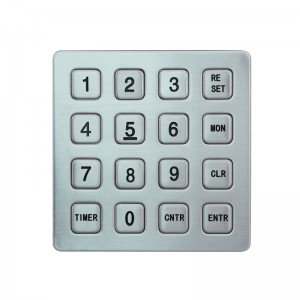 exclusive industrial indoor and outdoor payment queue rugged keypad B723