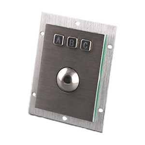 Trackball Keypad Stainless Steel Industrial Keypad-B805