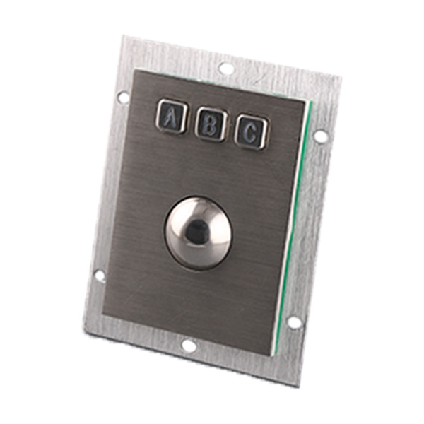 Trackball Keypad Stainless Steel Industrial Keypad-B805 Featured Image