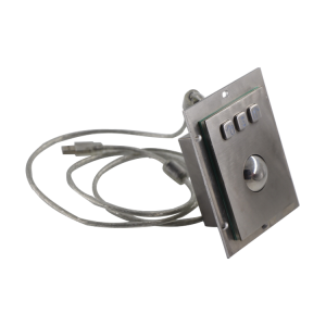 Waterproof trackball Keypad Stainless Steel Industrial Keypad for access control system-B805