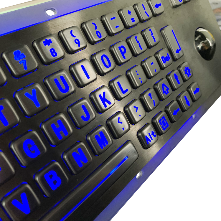 Vandal-proof stainless steel keypad with trackball for military-B807 Featured Image