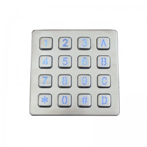 Quality Inspection for Outdoor Keypad -