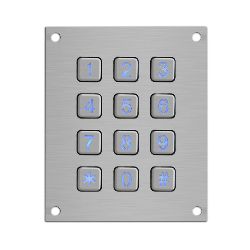 professional factory for Industrial Telephone Keypad -