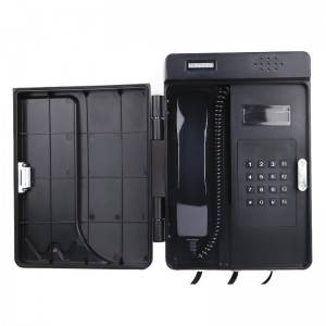 High quality ABS VOIP telephone full key weatherproof telephone
