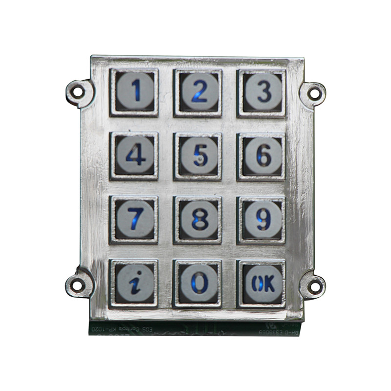 Silicone rubber programmable 3×4 12 keys keypad for tv remote control-B661 Featured Image