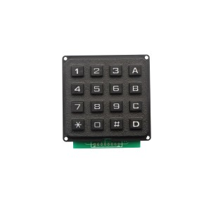 4×4 16keys IP 65 waterproof digital plastic Intercom System Keypad-B101
