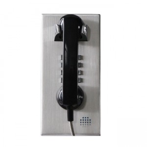 Prison telephone internal intercoms communicatioon wall mounted rugged jail telephone–JWAT130