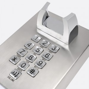 Dustproof elevator phone durable telephone for jail wall mounted prison telephone–JWAT133