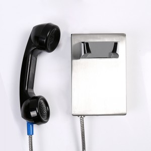 Industrial telephone Heavy duty prison cheap stainless steel Automatic dial telephone-JWAT135