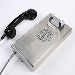 Inmate Public Telephone with Volume Control Feature Wall Mounted Telephone–JWAT137