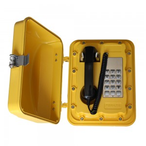 Joiwo china ip65 telephone weather proof vandal proof telephone voip telephone JWAT901