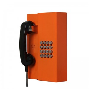Emergency bank telephone wall mounted vandal-proof telephone–JWAT201