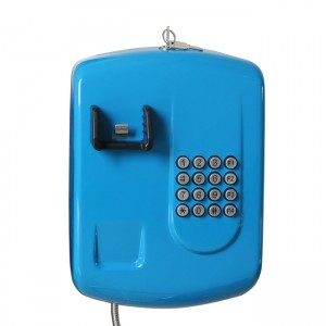 Public telephone dustproof corded telephone for bank–JWAT204