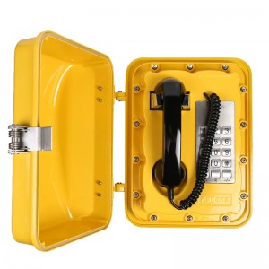 The aluminum alloy safety rotary dial Public telephone waterpoof telephone–JWAT301