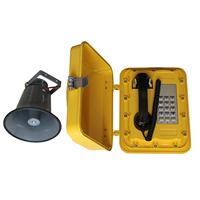 Industrial Telephone with Loud-speaker Aluminum Alloy all Weather Protection Waterproof Telephone–JWAT302 Featured Image