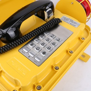 water resistant phone marine  ip66 weatherproof telephone–JWAT303