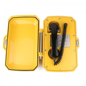 Industrial telephone Aluminum alloy waterproof emergency telephone-JWAT306