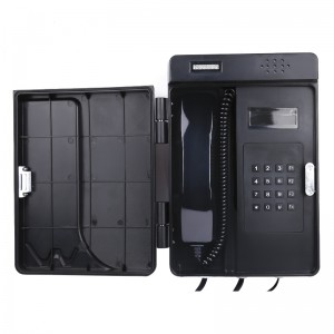 Waterproof Plastic Telephone for Railway Applications JWAT904