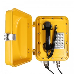 Joiwo Explosion Proof Telephone for Metal Mining Marine Industrial Telephone used in Subway JWAT830
